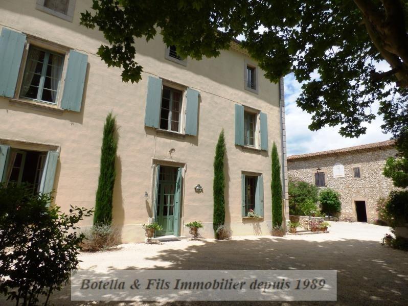 Verkoop van prestige  huis Uzes 789500€ - Foto 3