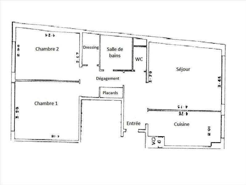 Venta  apartamento Paris 18ème 522000€ - Fotografía 3
