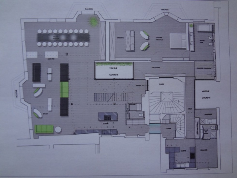 Deluxe sale apartment Paris 1er 18000000€ - Picture 7
