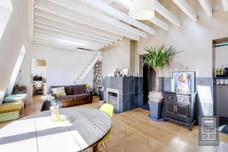 Sale apartment Paris 18ème 650000€ - Picture 2