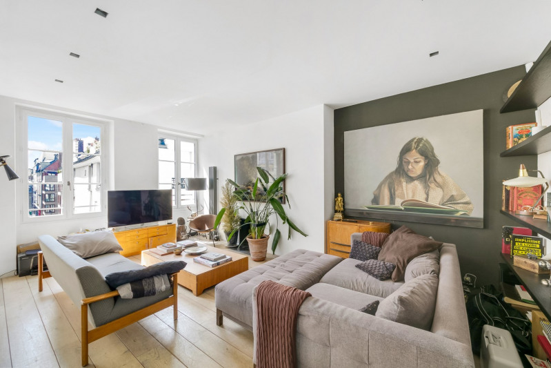 Verkoop van prestige  appartement Paris 3ème 1600000€ - Foto 1