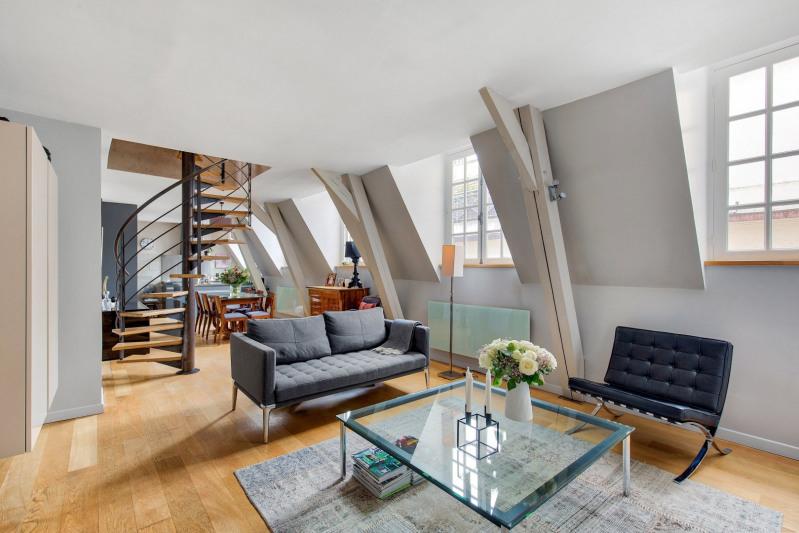 Verkoop van prestige  appartement Paris 3ème 1680000€ - Foto 5