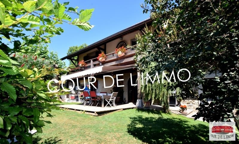 Deluxe sale house / villa Esery 659000€ - Picture 1