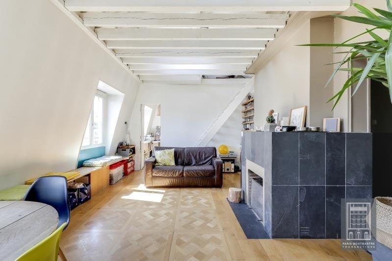 Sale apartment Paris 18ème 650000€ - Picture 4