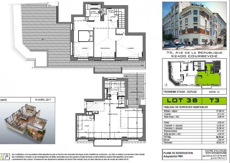 Sale apartment Courbevoie 740000€ - Picture 6