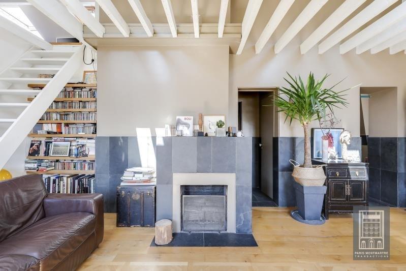 Sale apartment Paris 18ème 650000€ - Picture 3