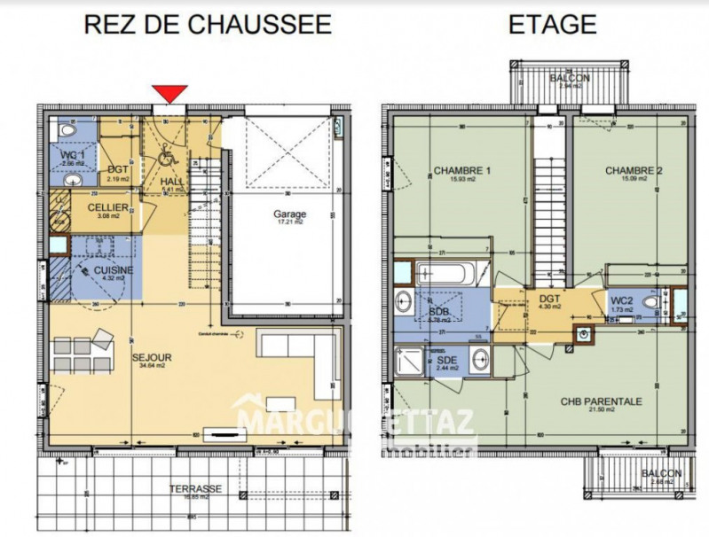 Sale house / villa Faucigny 377000€ - Picture 2