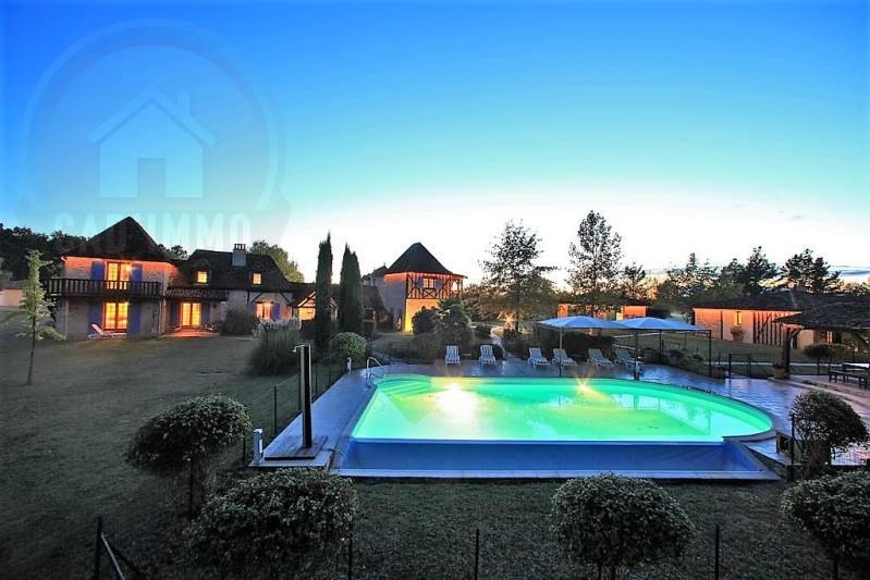 Deluxe sale house / villa Bosset 1 467 500€ - Picture 1