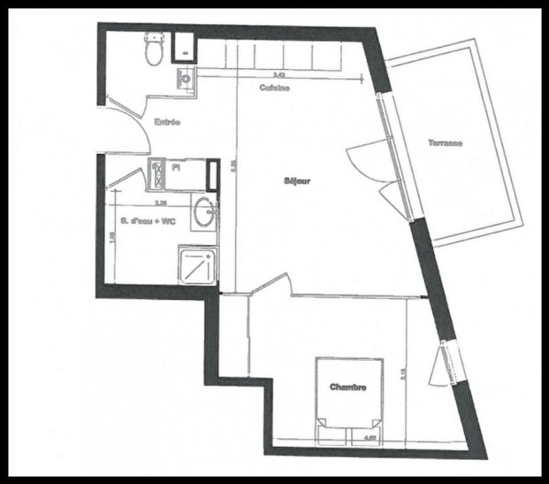 Sale apartment Gujan mestras 194000€ - Picture 2