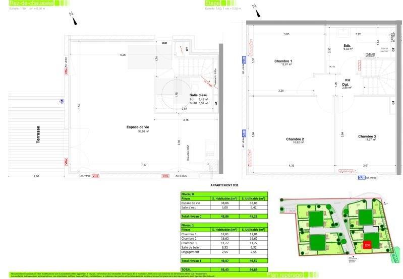 Sale apartment Vetraz monthoux 444000€ - Picture 2