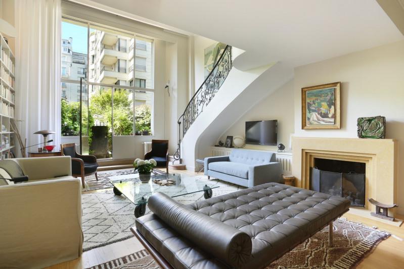 Revenda residencial de prestígio apartamento Paris 16ème 1990000€ - Fotografia 2