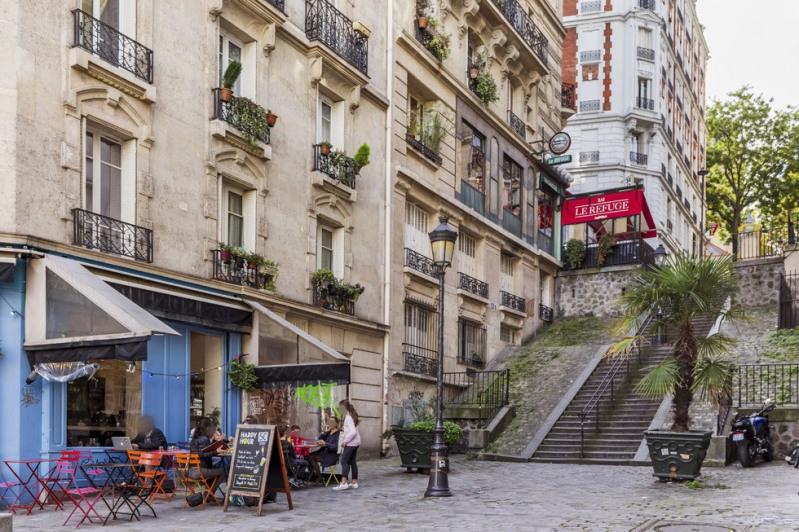 Deluxe sale apartment Paris 18ème 1750000€ - Picture 20