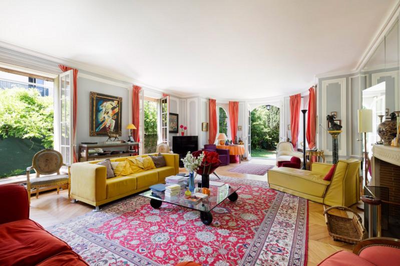 Vente de prestige appartement Boulogne-billancourt 3100000€ - Photo 1