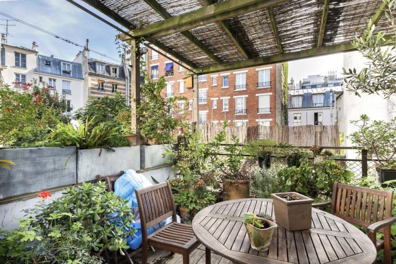 Deluxe sale apartment Paris 18ème 1750000€ - Picture 2