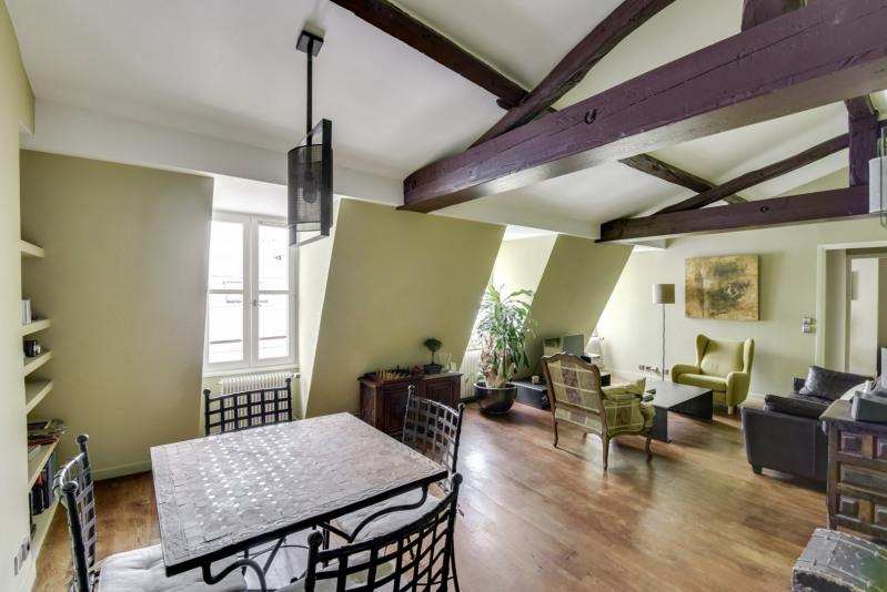 Vente de prestige appartement Paris 3ème 1270000€ - Photo 3