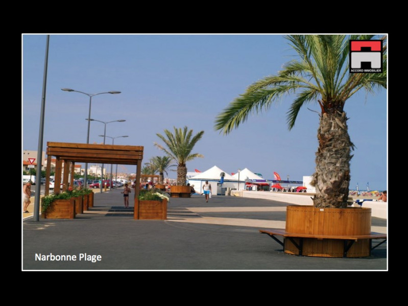 Vente appartement Narbonne plage 135 000€ - Photo 1