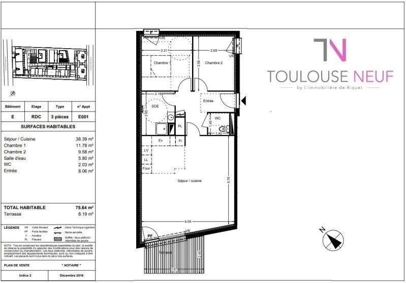 Vente appartement Balma 277000€ - Photo 10