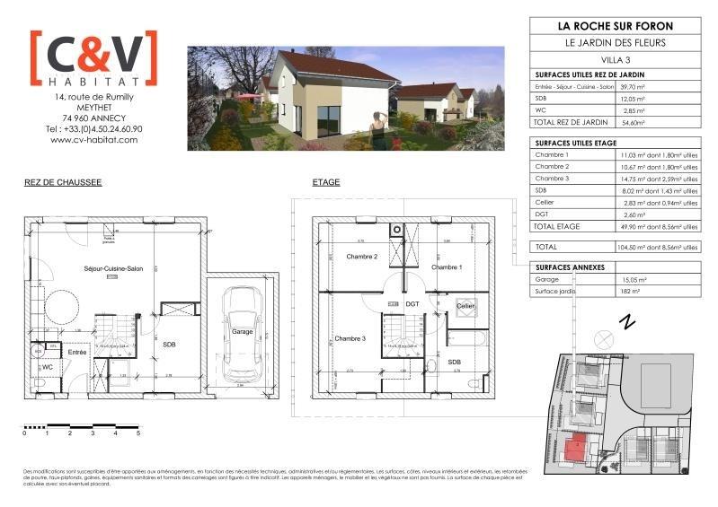 Sale house / villa La roche sur foron 399900€ - Picture 3