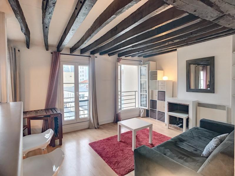 Sale apartment Paris 3ème 420000€ - Picture 1