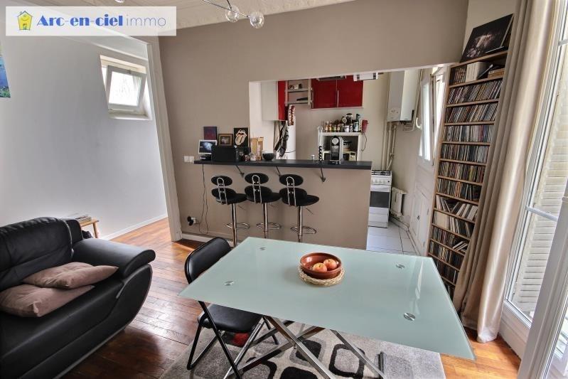 Revenda apartamento Paris 20ème 320000€ - Fotografia 3