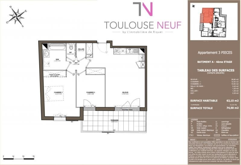 Vente appartement Toulouse 269 900€ - Photo 6