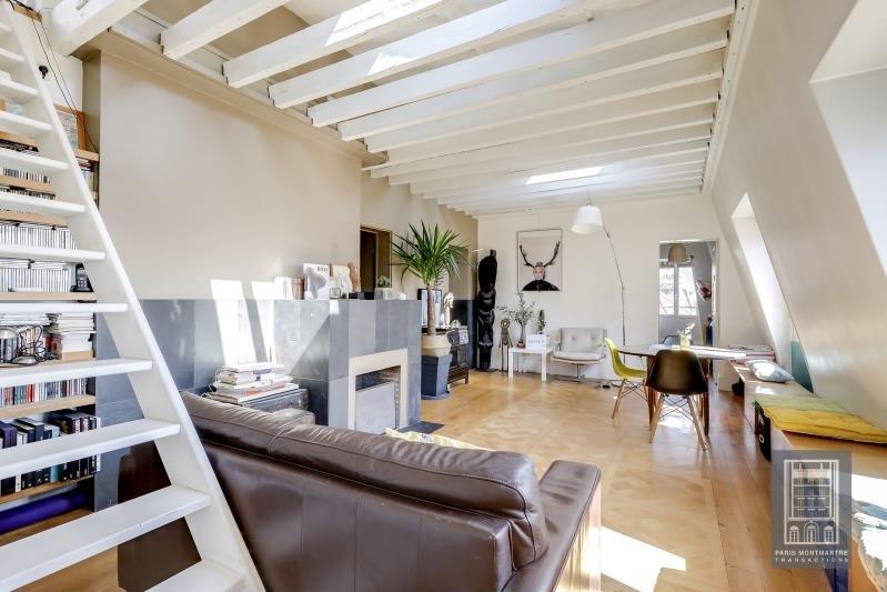 Sale apartment Paris 18ème 650000€ - Picture 1