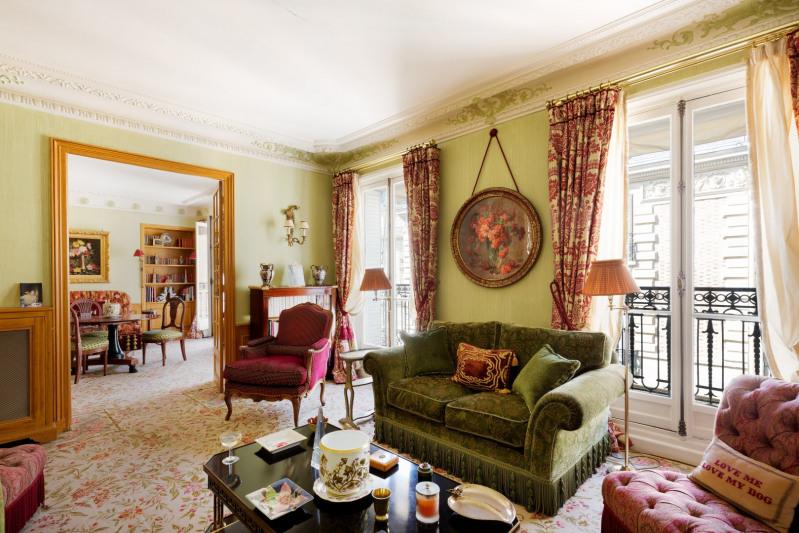 Verkauf von luxusobjekt wohnung Paris 16ème 1800000€ - Fotografie 1