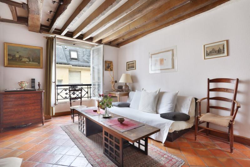 Verkoop van prestige  appartement Paris 4ème 475000€ - Foto 2