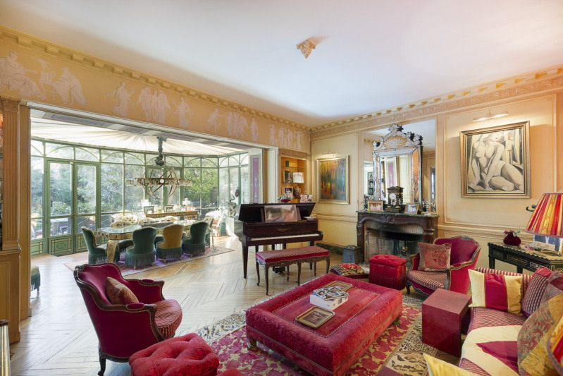 Revenda residencial de prestígio palacete Paris 16ème 11500000€ - Fotografia 8