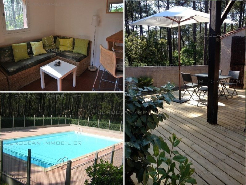 Location vacances maison / villa Lacanau-ocean 410€ - Photo 1