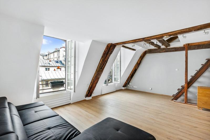 Vente de prestige appartement Paris 4ème 525000€ - Photo 2