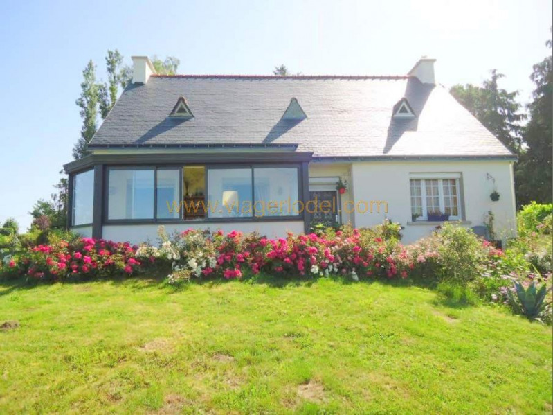 Vendita nell' vitalizio di vita casa Spezet 40900€ - Fotografia 1