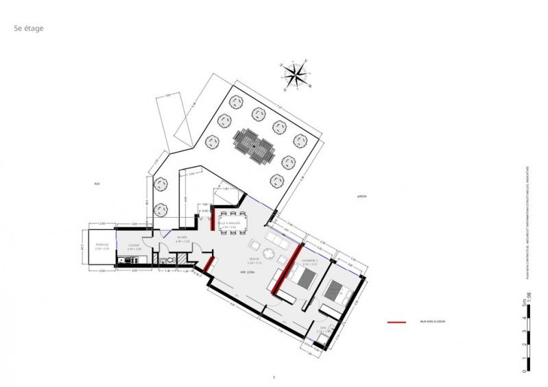 Deluxe sale apartment Paris 18ème 1100000€ - Picture 9