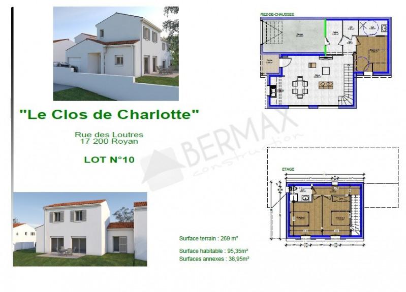 Maison  4 pièces + Terrain 269 m² Royan par BERMAX CONSTRUCTION