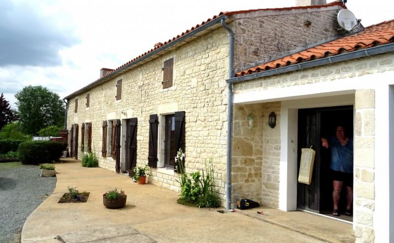 Vente maison / villa Mouzeuil st martin 349900€ - Photo 1