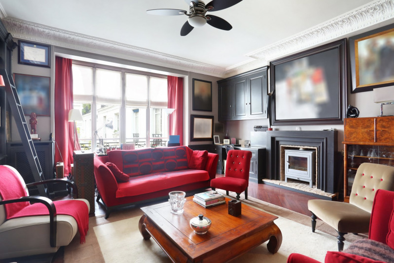 Vente de prestige appartement Paris 16ème 3250000€ - Photo 2