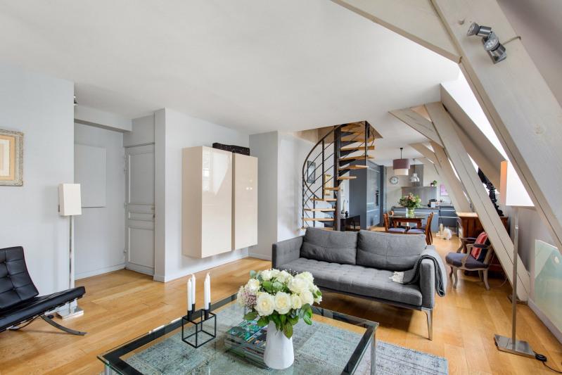 Verkoop van prestige  appartement Paris 3ème 1680000€ - Foto 2