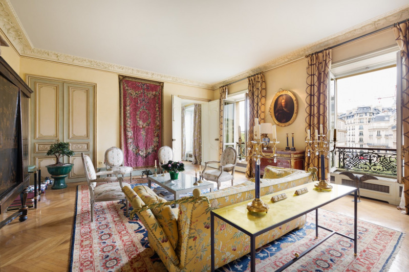Deluxe sale apartment Paris 16ème 2 960 000€ - Picture 2