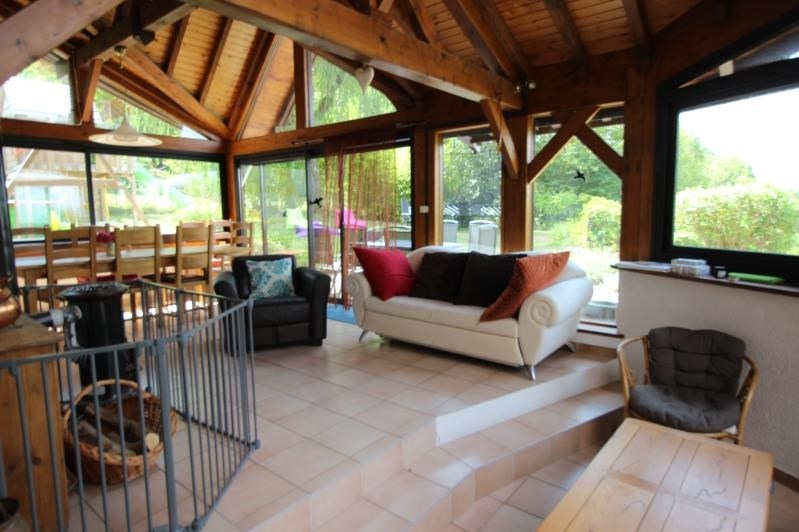 Deluxe sale house / villa Saint sixt 630 000€ - Picture 2