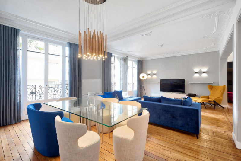 Deluxe sale apartment Paris 16ème 1 790 000€ - Picture 3