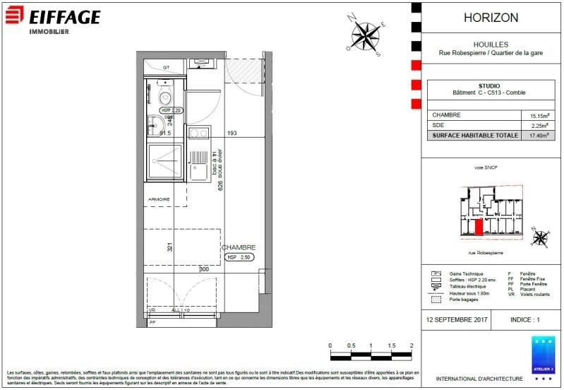 Investment property apartment Houilles 144413€ - Picture 2