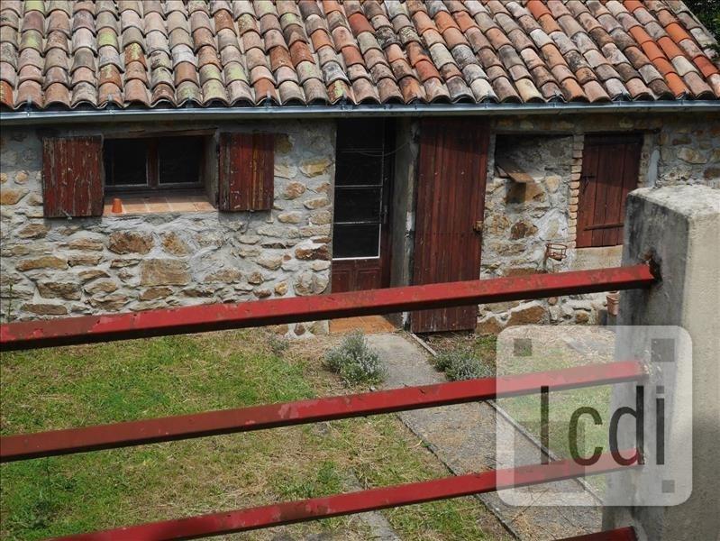 Vente maison / villa Les mages 124800€ - Photo 1