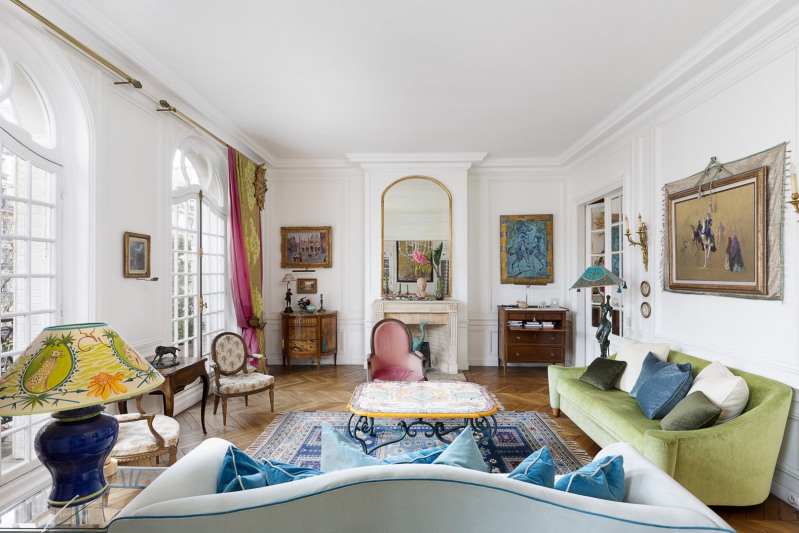 Revenda residencial de prestígio apartamento Paris 7ème 4680000€ - Fotografia 6