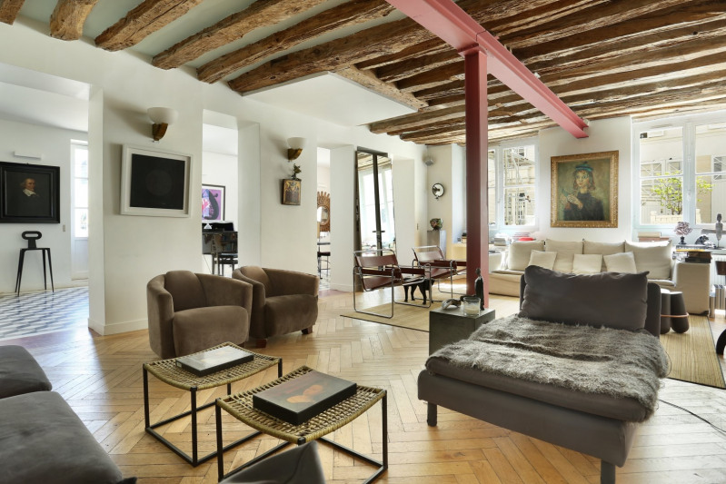Deluxe sale apartment Paris 7ème 4 950 000€ - Picture 2