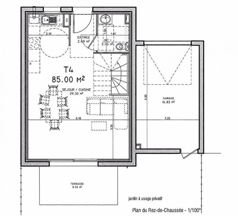 Vente maison royan 4 pi ce s 85 m royan 17200 85m for Achat maison royan