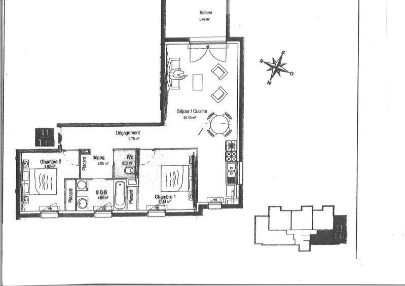 Rental apartment Chatou 1450€ CC - Picture 10