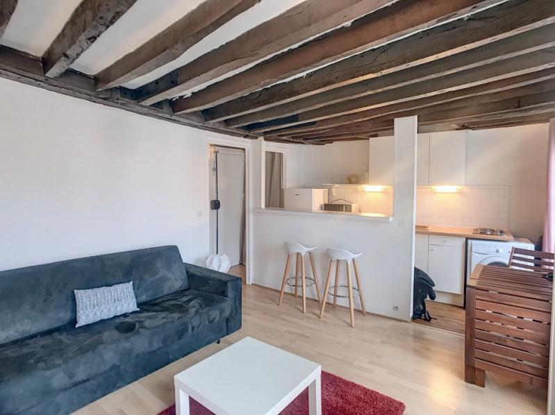 Sale apartment Paris 3ème 420000€ - Picture 2