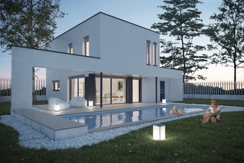 """Modèle de maison  """"Inigo - Villa 103 m²"""" à partir de 5 pièces Savoie par NEHOME HABITATION"""