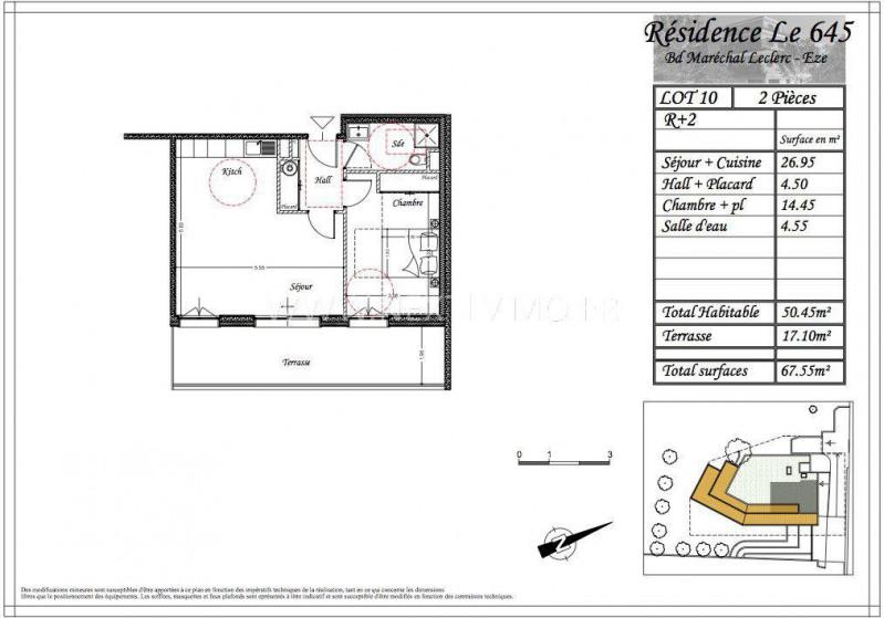 Vente appartement Èze 338015€ - Photo 3