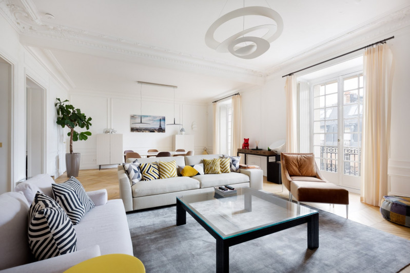 Vente de prestige appartement Paris 8ème 3490000€ - Photo 2